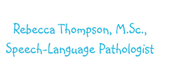 Rebecca Thompson Speech Language Pathologist